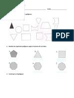 Quiz No 1 de Geometria Grado Tercero - Primer Periodo