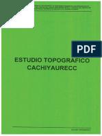 ESTUDIO TOPOGRÁFICO PARA SANEAMIENTO