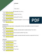 Effective Listening Checklist 190132