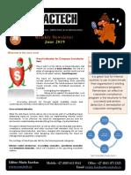 Exactech Newsletter June 2019