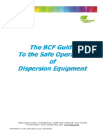 BCF Guide to the Safe Operation of Dispersion Equipment