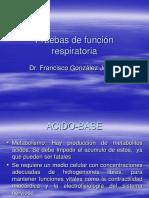 Pruebas de Funcion Pulmonar I