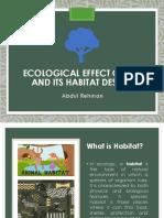 Ecological Effects of Rat Habitat