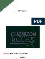 Classroomm Rules