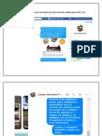 Relación de Mensajes Para La Compra de Reloj y Mural de Ajedrez Para CBTis