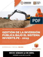 GESTIÓN DE LA INVERSIÓN PUBLICA