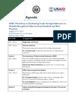 APEC Cybersecurity Standards Agenda-2