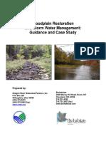 Floodplain Restoration Sw Management March 2009