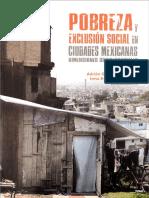 2. Pobreza Exclusion Social CdMexicanas Intro