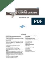 PERFIL DE CUDADES GAUCHAS