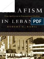 [Robert Rabil] Salafism in Lebanon From Apolitici