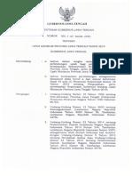 SK UMP Jawa Tengah Tahun 2019