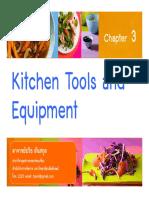 chapter3-kitchentoolsandequipments-160823032704