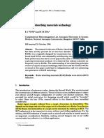 Trends in Radar Absorbing Materials Technology