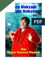 Guru Bakyam Param Bakyam (Vol-I)