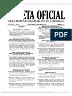 GO 41738 RESOLUCION N° 169 911 (DEROGA RESOL.146)