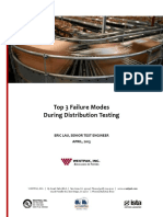 Top3 Failure Modes During Distribution Testing
