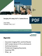 Imaging101 using SAP Content Server