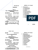 Orthodontics Question paper