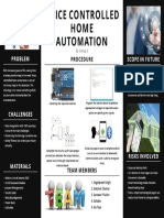 home automation poster
