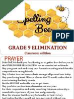 Spelling Bee g9 2019