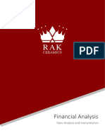FIN254 Report on Ratio Analyis and Intrepretaion of RAK Ceramics Bangladesh Limited(2)