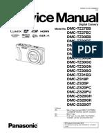 Panasonic DMC-TZ30 / DMC-TZ27 / DMC-TZ31 / DMC-ZS19 / DMC-ZS20 Digital Camera Service Manual