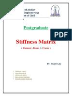 Stiffness Matrix .PDF Not