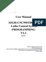 01Programming of CNC