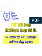 F6 - Introduction to RTL Synthesis and Technology Mapping.pdf