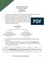 11 Biology Notes Ch09 Biomolecules