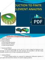 Unit 1 - Introduction to FEA