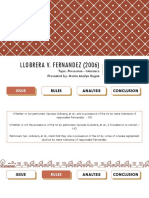 Llobrera v. Fernandez