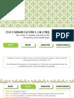 ESSO Standard Eastern v. Lim