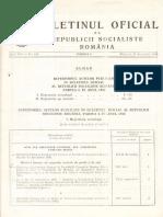 Buletinul Oficial nr.125 din 31.12.1980