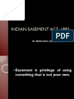 Indian Easement Act ,1882