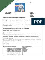 edar 368 lesson plan - visual and media arts
