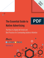 The essential guide to native advertising