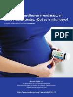 Diabetes en el embarazo