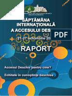 Saptamana Internationala a Accesului Deschis 2019 la BS USARB