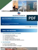 Géotechnique et quais portuaires