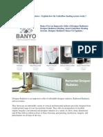 Banyo Designer Radiators
