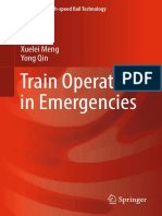 Train Operation in Emergencies