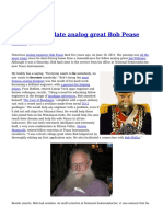 Honoring the Late Analog Great Bob Pease
