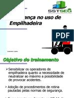 Segurança no uso de empilhadeira - Edson D. Silva.ppt
