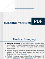BMI - 15 - Imaging Techniques