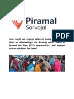 Case Study 2_Piramal Sarvajal
