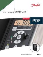 Guia rápido VLT micro drive
