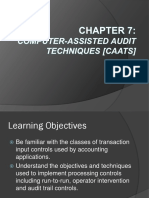 It Auditing Chapter 7 Caats Report
