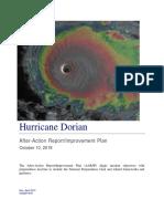 Hurricane Dorian After Action Report